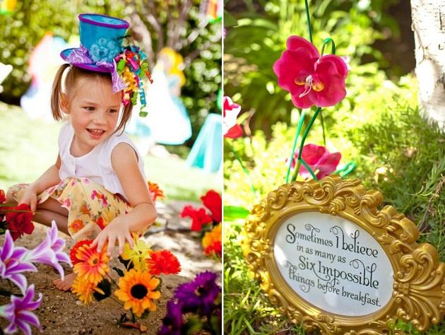 Aniversário Alice no País das Maravilhas