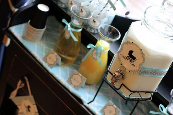 Chá de Bebê com Tema Bonequinha de Luxo