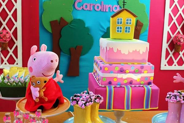 festa de aniversario peppa pig 9