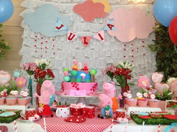 Festa Peppa Pig   Uma seleção para se inspirarem peppa pig decoração peppa pig aniversário peppa pig
